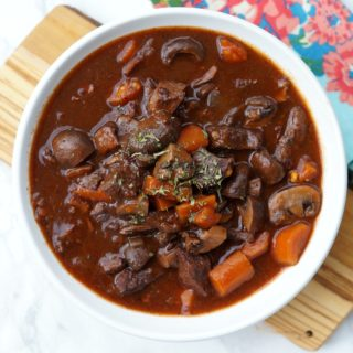 Instant Pot Beef Bourguignon Recipe