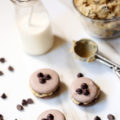 Chocolate Chip Cookie Dough Macarons are the perfect cheat day treat! If you are entertaining friends, this is the decadent dessert you need to serve!