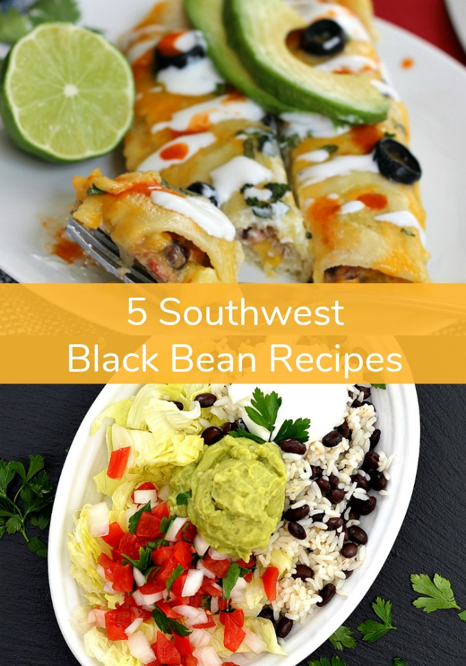 Indulge your taco Tuesday cravings this week without the guilt when you make these five healthy Tex-Mex Black Bean Recipes full of protein-rich flavor. These healthier classics are must-try recipes!