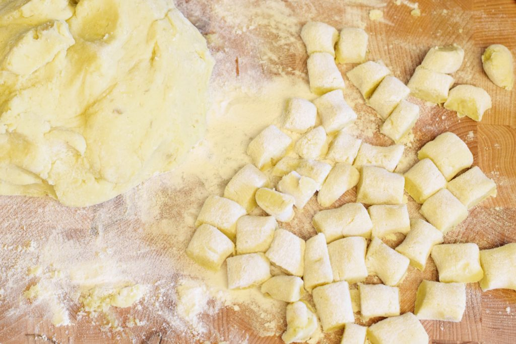 We know the idea of making pasta from scratch can be intimating, but luckily this Homemade Sweet Potato Gnocchi recipe is perfect for culinary aficionados no matter what your kitchen experience is.