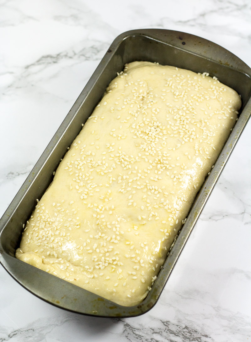 The ingredient list for this One Hour Homemade Bread recipe is easy to ready and it comes together in only one hour making it perfect for beginner bakers.