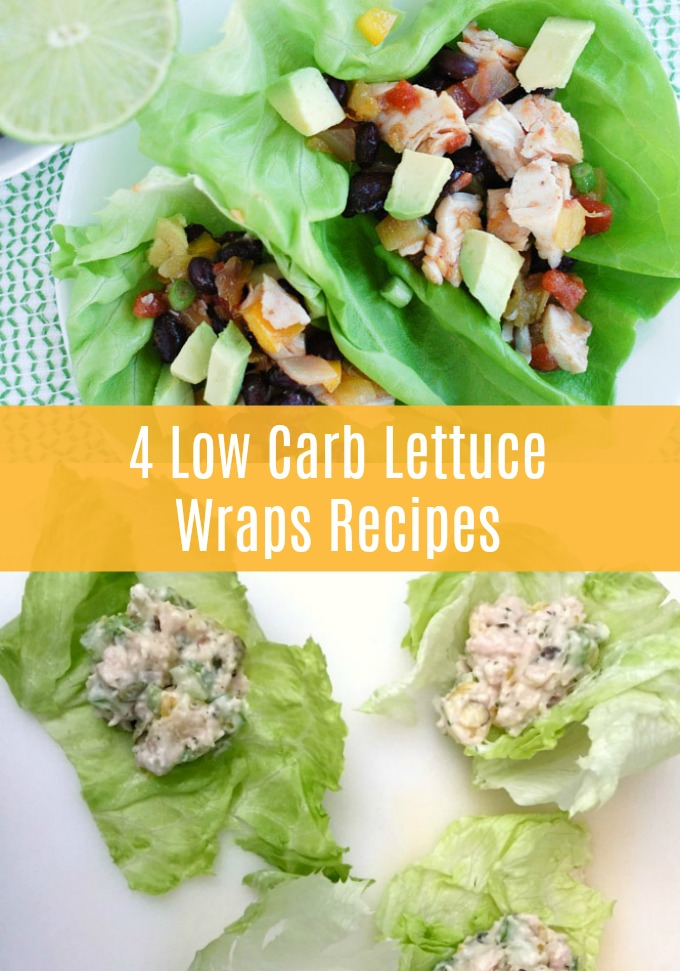 Enjoy a healthy lunch by ditching the extra carbs and opting for a lettuce wrap. These four Low-Carb Lettuce Wrap recipes will make you the lunchtime envy of the office!