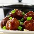 Combine the flavors of Asian cuisine with hearty meatballs in this Slow Cooker Asian-Inspired Meatballs recipe. This one-pot meal is perfect for busy weeknights when you want to mix it up for dinner!
