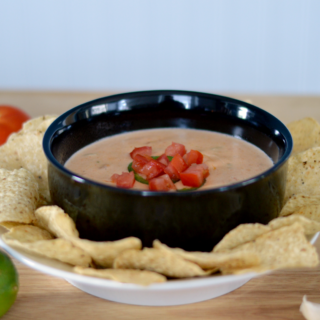 Tex-Mex Goat Cheese Queso Dip