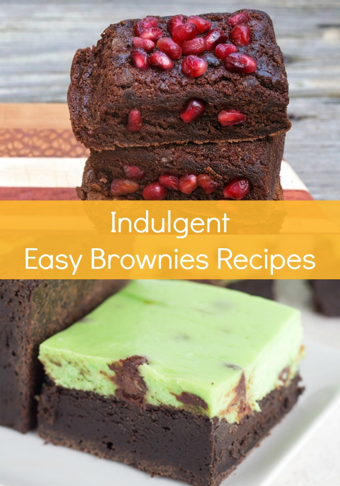 You need to try these indulgent Easy Brownies Recipes full of inventive ingredients the next time you get the craving for a sweet treat.