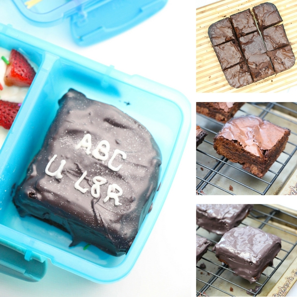This personalized Chalkboard Brownies Recipe is just what you need to bring a smile to someone's face. It's the ultimate lunchbox treat recipe!