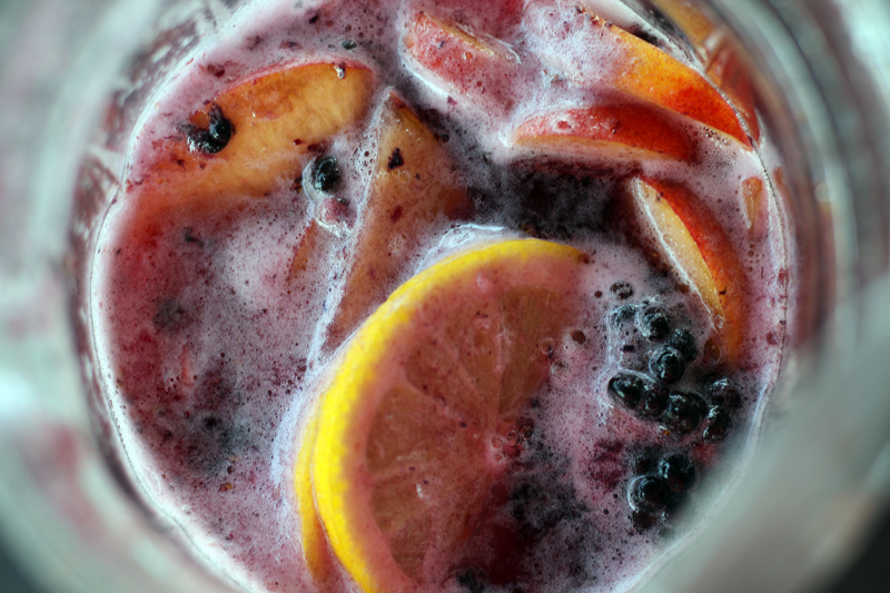 Enjoy the last seasonal flavors of summer when you whip up this Summer's End Sangria recipe. Perfect for any celebration, this easy sparkling wine punch is a refreshing crowd pleaser.