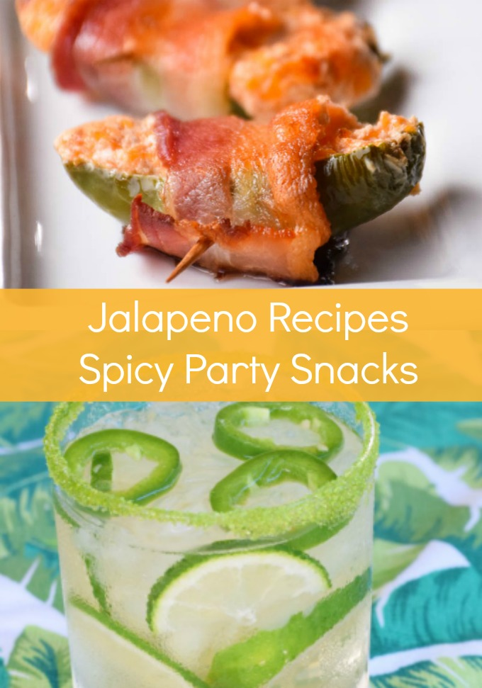 Heat things up with these Spicy Jalapeño Party Foods and Drinks. Whether you like it extra hot or nice and mild, we have the appetizers and cocktails you need to add some fire to any occasion!