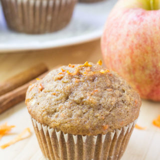 Harvest Fresh Apple Carrot Muffins