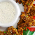 With football season in full swing, we're all rooting for our favorite teams, but we're also looking forward to all of the fantastic tailgate food! These Boneless Parmesan Garlic Wings are certain to win over a crowd!
