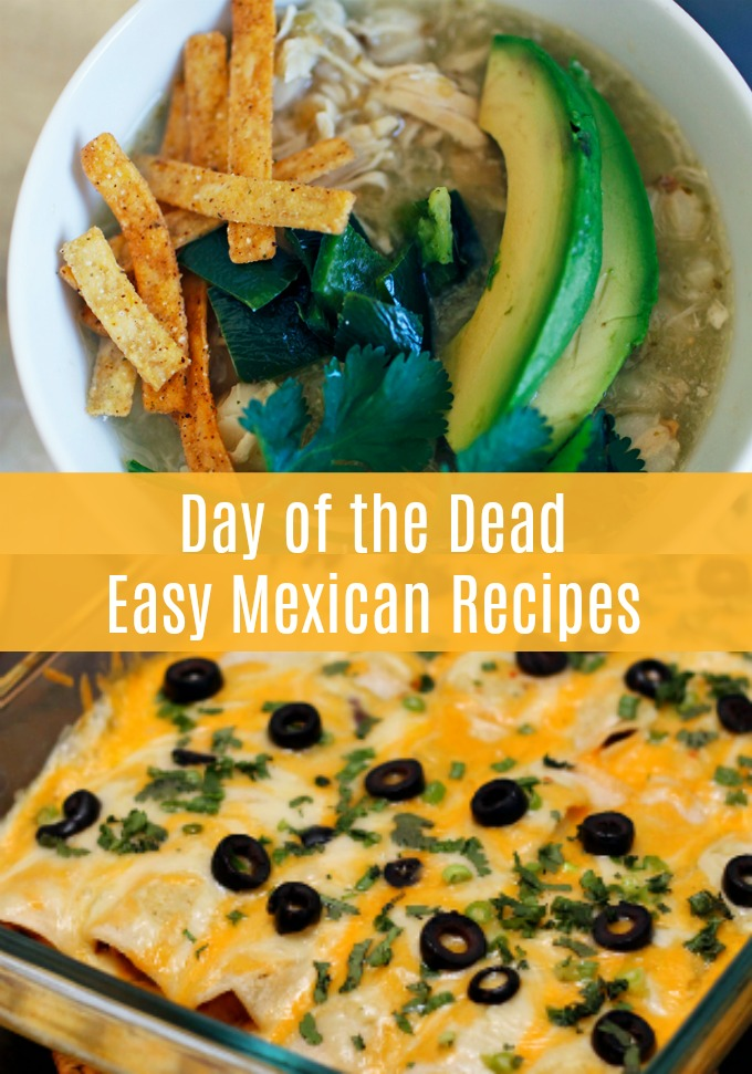 We know Halloween will always have a special place on your entertaining calendar, but once it's over, turn your sights to celebrating the Day of the Dead. These Easy Mexican Recipes are perfect for your Dia de los Muertos celebration!