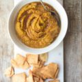 Pumpkin and spice are a match made in heaven, and this Maple Pumpkin Spice Hummus recipe is no exception. Ready in just 10 minutes with seven ingredients, this is the perfect appetizer for all of your fall celebrations!