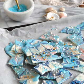 Magical Mermaid Chocolate Bark Recipe