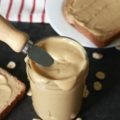 This natural Cinnamon Maple Peanut Butter recipe is so creamy and flavorful you will want to smear it on more than just your morning toast!
