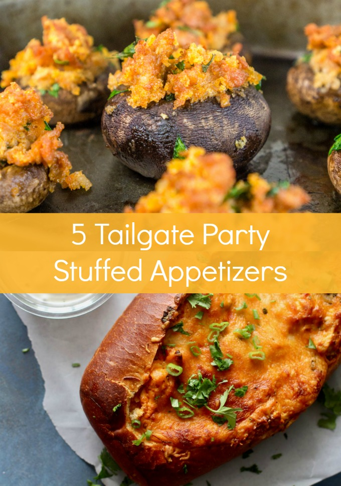 Be the real winner this Sunday when you make any one of these crowd-pleasing Tailgate Party Stuffed Appetizers. Perfect for noshing and simple to make!