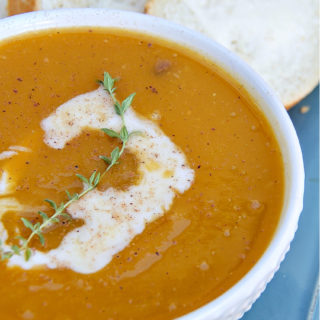 5-Ingredient Butternut Squash Soup