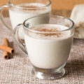 If you love to sip on eggnog during the holidays, but need a dairy-free alternative, this Puerto Rican Coquito is for you! Smooth, rich, and creamy; this Coconut Eggnog Recipe is perfect for sharing with friends.