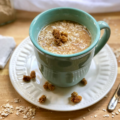 This Earl Grey Mulberry Overnight Oatmeal features Earl Grey tea accented with Bergamot orange essence, cardamom, and mulberries. With very little prep time, this is a cozy way to enjoy your oats on a cold morning!