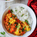 This authentic Coconut Milk Cauliflower Indian Dhal is a powerhouse of nutrients with a host of vegetables and Indian spices that can be ready in about 30 minutes with only one pan!