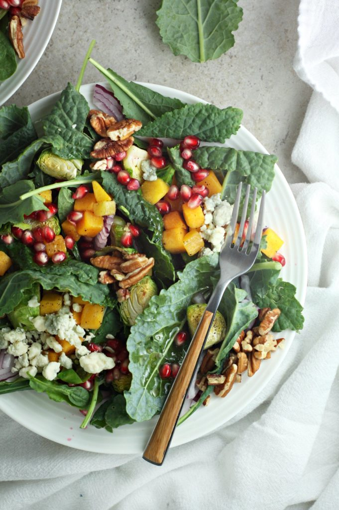 The next time you want a healthy lunch option that feels like you are indulging in a special treat try these five wintertime Seasonal Salad Recipes