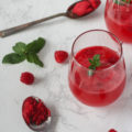 Celebrate all of the important people in your life with this beautiful, light, and refreshing Raspberry Sorbet Champagne Punch. The perfect signature punch for Valentine's Day, date night, or any time the party calls for a little bubbly!