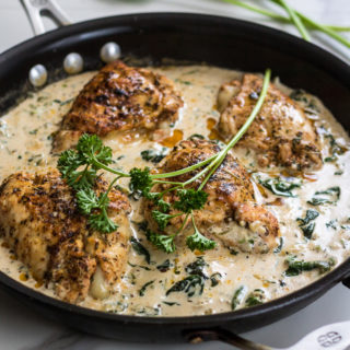 Herb Mozzarella Stuffed Chicken