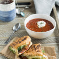 Whip up a deli-style meal at home when you make this Fire-Roasted Tomato Soup. Paired with a simple Rotisserie Chicken Three-Cheese Panini, this 30-minute meal combo is the perfect comfort food.