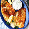 Ready in just 15 minutes, this Panko Fried Flounder with homemade Tartar Sauce is the perfect weeknight dinner. Cook to impress with this simple recipe that only requires a handful of ingredients.