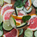 Relax and refresh while you burn fat sipping on this Cucumber Grapefruit Spa Water. With the health benefits of cucumbers, grapefruit, lime, and mint, this is a simple detox drink you can make at home. Who knew water could be so fancy?