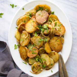 French Style Pan Fried Potatoes