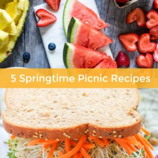 5 Springtime Picnic Recipes