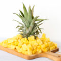 Warm weather is the time for outdoor entertaining and you need the perfect party foods. Head to your local farmers market, pick up a pineapple, and learn how to effortlessly cut and serve fresh pineapple and to impress your party guests!