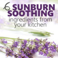 Summer entertaining is upon us which means plenty of time outdoors enjoying time with friends and family. If you or one of your guests accidentally soaks up too much sun, turn to these six Natural Sunburn Soothing Remedies with ingredients from your kitchen for relief!