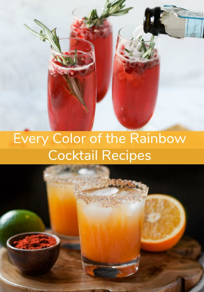 ROYGBIV isn't just for art class anymore - it's for happy hour, too! Whether you want something fruity, tart, or smoky, our Colors of the Rainbow Cocktail Recipes will add a pop of color to every occasion. Never serve plain, old clear liquor ever again!