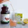 Get bikini ready when you lose 5 pounds of water weight with this 7-Day Detox Drink as recommended by Jillian Michaels. Ingredients: distilled water, cranberry juice, organic dandelion root tea, and lemon.