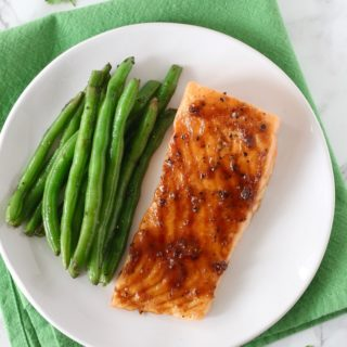 Caramelized Mustard Salmon