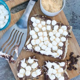 15-Minute Grilled S'mores Pizza
