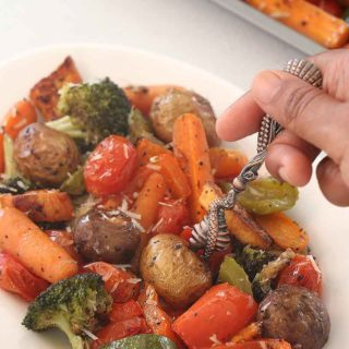 Italian Roasted Mixed Vegetables