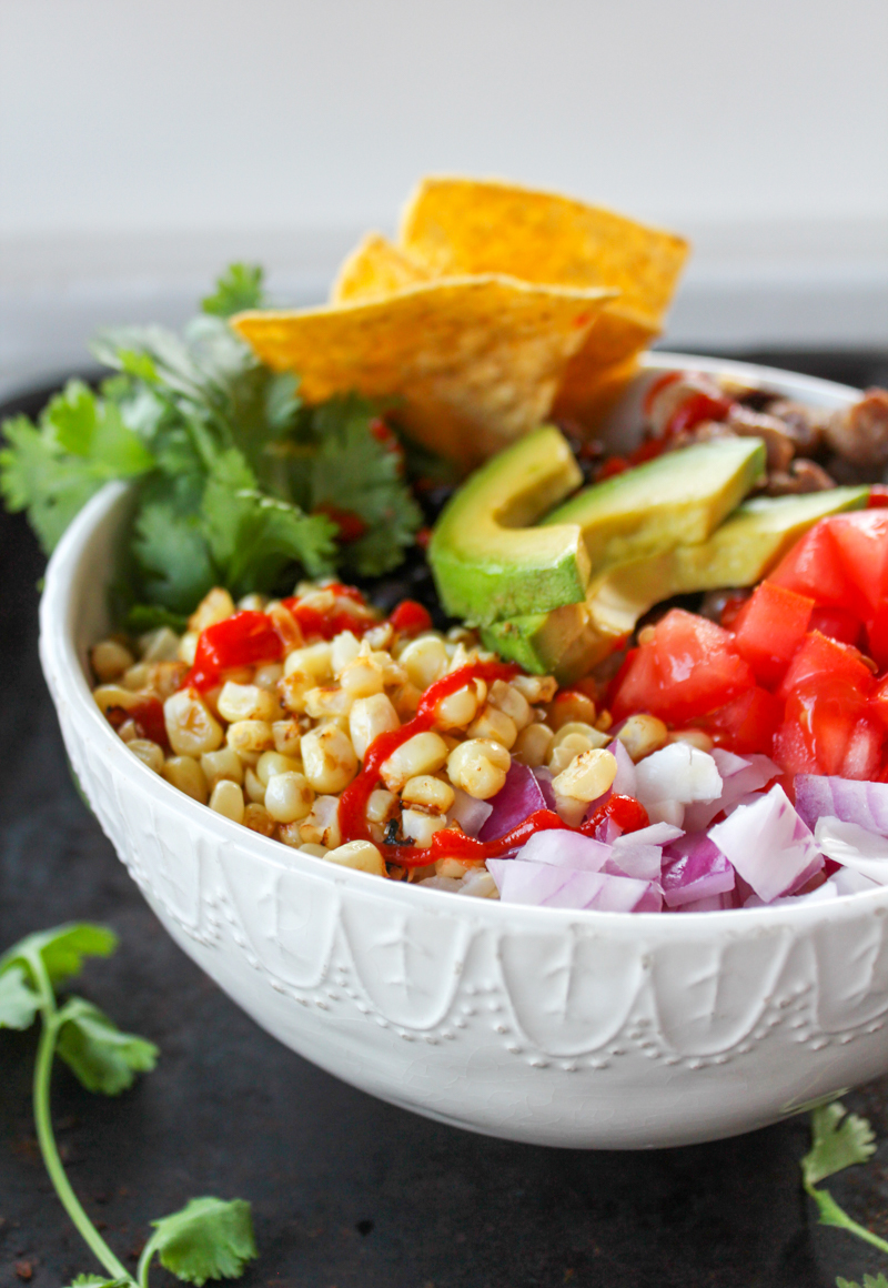 Perfect for weekly meal prep when you're planning easy weeknight dinners, these Chorizo Taco Rice Bowls are a cheap healthy meal packed with protein and veggies. A 30-minute meal you can make in big batches and enjoy all week long!