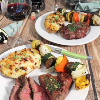 Herb Butter Grilled Filet Mignon