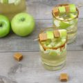 This Caramel Apple White Sangria recipe is a light and crisp cocktail filled with fall flavors. Perfect for happy hour entertaining, tailgating, or a girls' night in, this seasonal cocktail is ideal for transitioning from summer to fall.