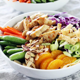 Chinese Chicken Mandarin Salad Bowl