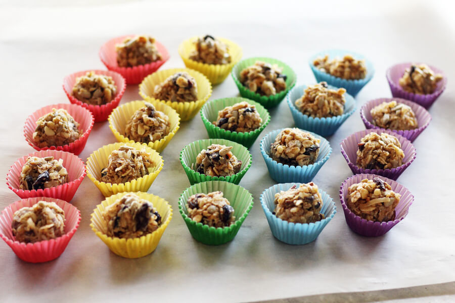 Have hungry kids begging for an after school snack the minute they get home? These Kid-Friendly Sweet Salty Energy Bites are a no-bake dessert they'll love. You can feel good about these bite-sized treats because of the healthy ingredients.