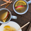 Cooler temps and happy hour scream for this Spiced Whiskey Spiked Apple Cider. Make this crisp fall flavors cocktail by the mug for intimate evenings at home or by the pitcher for fall entertaining.