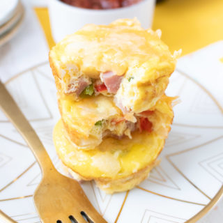 Easy Make-Ahead Denver Omelet Cups