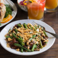 Cooking for two this holiday season? Ditch the tired old green bean casserole from your holiday menu and add this Bacon Mushroom Green Bean Salad instead. Use fresh ingredients for easy portion control when making two-person meals!