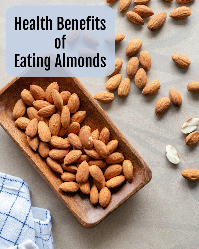 A high-fat food that's good for your health? Enjoy the many health benefits of eating almonds daily! From lowering bad cholesterol, to helping oxygen and nutrients flow more freely through the blood, to bone health, this magical nut needs to be in your diet!