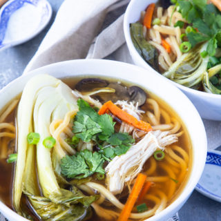 Slow Cooker Asian Chicken Noodle Soup