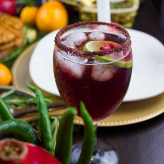 Sparkling Pomegranate Mocktail