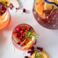 The Aperol Spritz is thought to be the quintessential summer cocktail, but Aperol's bitter citrus flavor makes it ideal for a Christmas cocktail. Perfect for easy entertaining, this Cranberry Aperol Spritz Christmas Punch is the ultimate crowd pleaser!